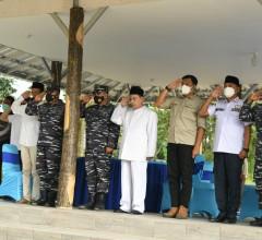 TNI AL Makamkan Secara Militer Jasad Para Syuhada Pahlawan Bangsa