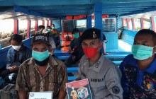 Bakamla RI Zona Maritim Barat Serentak Sosialisasikan Protokol Kesehatan 5M Bagi Masyarakat Maritim