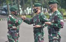 Pangdivif 1 Kostrad Terima Satgas Yonif Para Raider 330 dan Yonif Raider 323 Kostrad