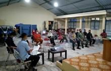 Babinsa Wonosari Hadiri Sosialisasi Edukasi PPKM Berbasis Mikro Cegah Covid 19