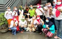 Perempuan Tani HKTI Bersama Bid Pemberdayaan Perempuan PJT Helar Pelatihan Tanam Hidroponik