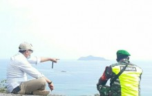 Babinsa Kelurahan Ranai Kota, Serda Erwin E Sidabutar Laksanakan Komsos bersama Lurah Ranai