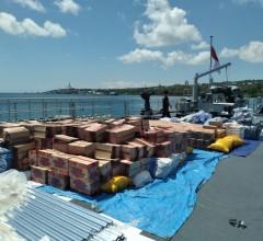 TNI AL Terus Mengerahkan Kapal Perang Bantu Angkut Bantuan Ke NTT