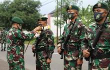 Danyonif Raider 321 Kostrad Pimpin Tradisi Korp Sambut Prajuritnya pulang Penugasan