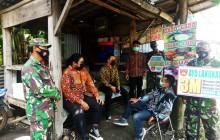 Pastikan Patuhi Prokes, Tim Gugas Covid-19 Kecamatan Juwiring Pantau Acara Pernikahan