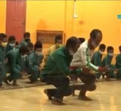 Salah Satu Program TMMD 110/Natuna Lestarikan Budaya Lokal Yang Hampir Punah