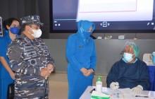 TNI AL Koarmada I Gelar Vaksinasi Hari Kedua Bagi Istri Prajurit TNI AL Jalasenastri