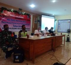 Dukung Pembangunan Desa, Babinsa Pedan Hadiri Musrenbangdes