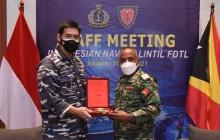 TNI AL Bahas Rencana Kerja Sama Dengan FALINTIL - FDTL